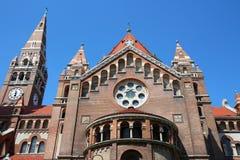 Szeged, Ungarn lizenzfreies stockbild