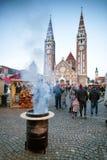 Szeged Ungarn im Dezember 2016 Advent Christmas Market Stockfotos