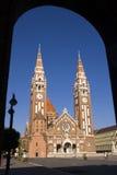 Szegedi Dom (Church of Szeged) Stock Photos
