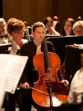 The   Szegedi Symphonic Orchestra performs Stock Images