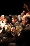 The   Szegedi Symphonic Orchestra performs Stock Photos