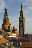 Szegedkathedraal, Hongarije Royalty-vrije Stock Fotografie