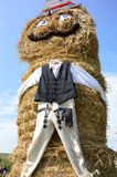 Szekely man made of hay Royalty Free Stock Images