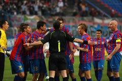 Szekesfehervar - kaposvar soccer game Stock Images