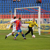 Szekesfehervar - kaposvar soccer game Stock Photos