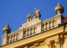 Szekesfehervar Roof Royalty Free Stock Photos