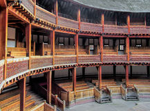 Szekspir kuli ziemskiej Theatre zdjęcie stock