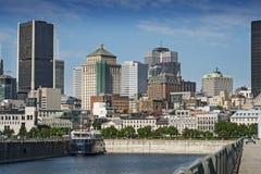 Szene alten Hafens Montreals stockfotografie