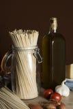 Szene avec italien des ingrédients Photo stock