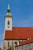 Szene in Bratislava, Slowakei Stockfoto