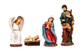 Szene der Geburt Christi lizenzfreie stockfotografie