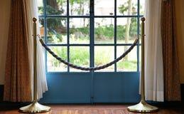 Szene des Eingangs des Hauses stockfotos