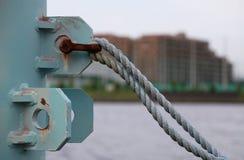 Szene des Hafens lizenzfreie stockbilder