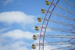 Szene des Riesenrads lizenzfreie stockfotografie