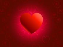 Szene des San-Valentin Tag 3-Illustration-vector Lizenzfreie Stockbilder