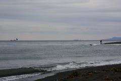 Szene des Strandes lizenzfreie stockbilder