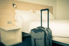 Szene im Hotelzimmer Stockfotos