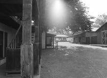 Szene vom alten Westen Stockbilder
