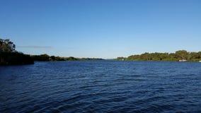 Szene vom Murray River 2 stockbild