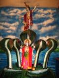 Szene von der indischen Mythologie Stockbild