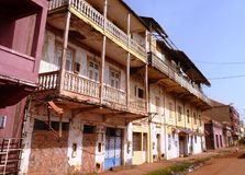 Szene von Guinea-Bissau lizenzfreies stockbild