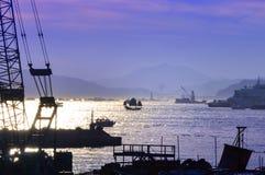 Szene von Hong Kong stockfoto