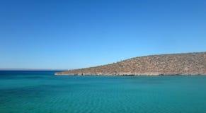 Szene von La Paz, Baja California Sur, Mexiko lizenzfreies stockbild