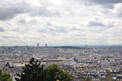 Szene von Montmartre Lizenzfreies Stockbild