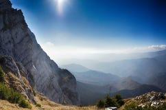 Szene von Nationalpark Piatra Craiului, Rumänien lizenzfreies stockbild