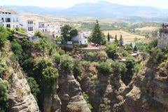 Szene von Ronda, Spanien lizenzfreies stockfoto