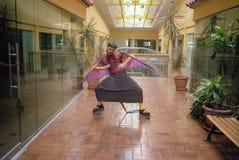 Szene von Ubu Roi durch Alfred Jarry - Miami Lizenzfreies Stockfoto