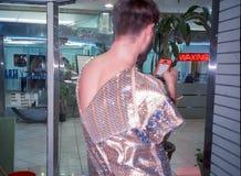 Szene von Ubu Roi durch Alfred Jarry - Miami Lizenzfreie Stockfotografie