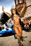 Szenen der Samba Lizenzfreie Stockfotos