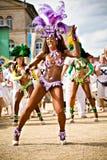 Szenen der Samba Lizenzfreie Stockbilder