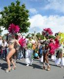 Szenen des Sambafestivals stockbild