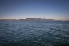 Szenen um Ogden Point-Kreuzschiffanschluß in Victoria BC Ca Stockfotografie
