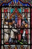 Szenen vom Leben des Heiligen Eugene lizenzfreie stockfotografie