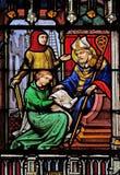 Szenen vom Leben des Heiligen Eugene stockfoto