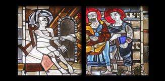 Szenen vom Leben von St Peter Lizenzfreies Stockbild