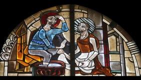 Szenen vom Leben von St Peter Lizenzfreie Stockbilder