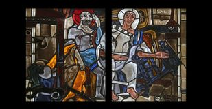 Szenen vom Leben von St Peter Lizenzfreies Stockfoto