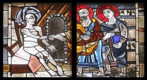 Szenen vom Leben von St Peter Stockfotografie