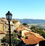 Szenen von Italien Cortona-Ansichten stockfotografie