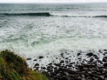 Szenen von Tarnaki-Strand, Nordinsel, Neuseeland Lizenzfreies Stockbild