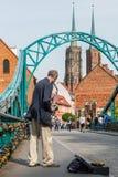 Szenen von Tumski-Brücke Lizenzfreie Stockfotos