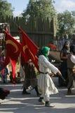 Szenenod-mittelalterlicher Markt von Obidos Lizenzfreie Stockfotos