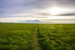 Szenisch übersehen Sie nahe Ninilchik, Alaska lizenzfreie stockfotografie
