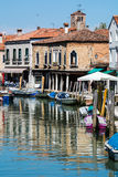 Szenisch von Venedig, Italien stockfotografie
