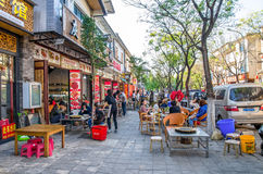 Szenische Ansicht Dali Old Towns in Yunnan, China Es ist ein berühmter touristischer Bestimmungsort von Asien Lizenzfreie Stockbilder