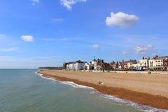 Szenische Ansicht Kent England Großbritannien der Abkommenseeseite Lizenzfreie Stockfotografie